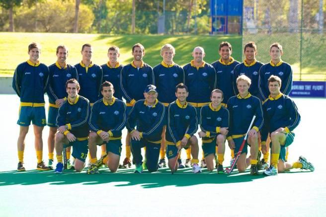 Kookaburras Olympic Squad 2012. 18 June 2012