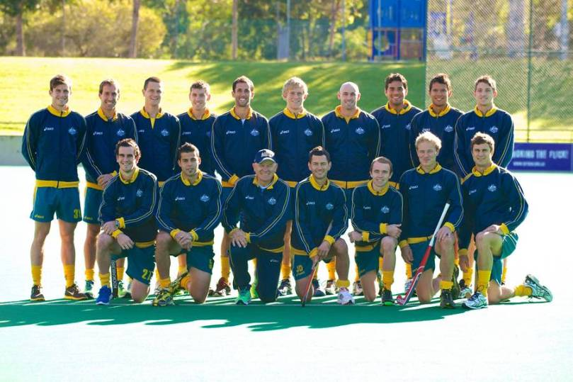 Kookaburras Olympic Squad 2012. 18 June 2012