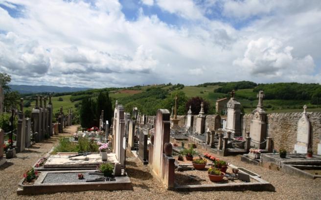 Quaint Little Graveyard
