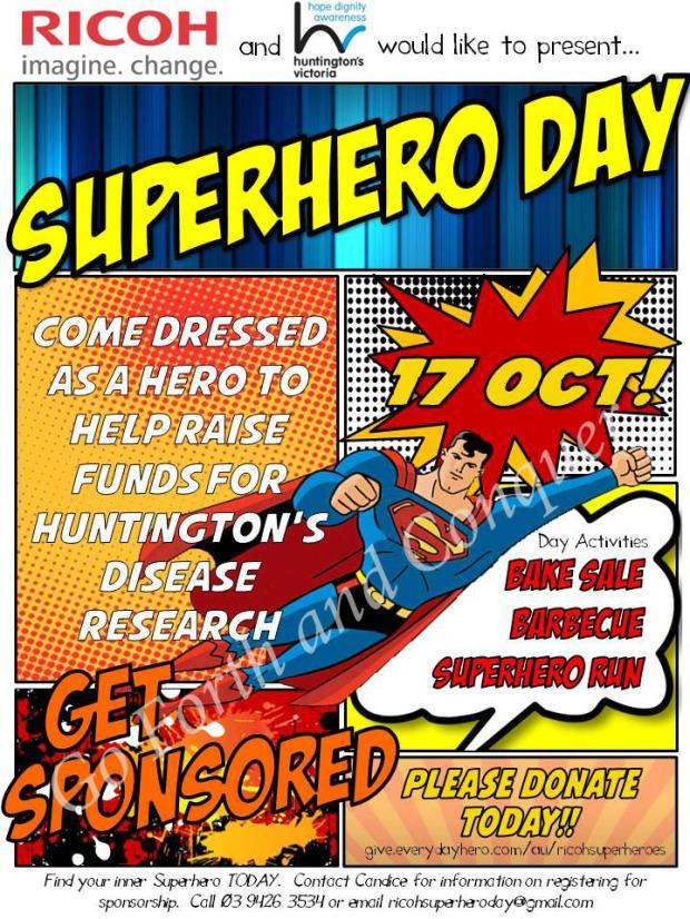Ricoh Superhero Day Poster copy