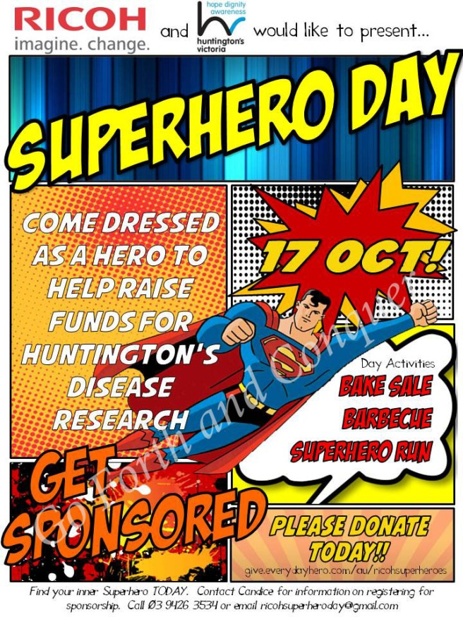 Ricoh Superhero Day Poster copy